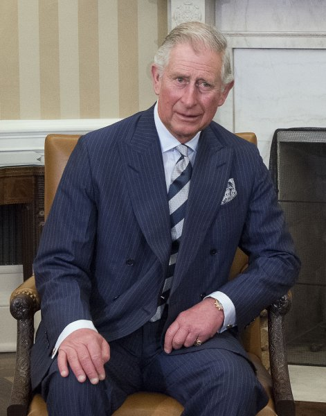 Prince Charles attends a meeting with former President Barack Obama in the Oval Office of the White House on March 19, 2015. The prince turns 71 on November 14. File Pool Photo by Ron Sachs/UPI
