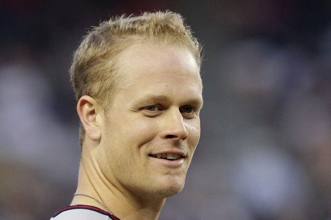 Former Minnesota Twins slugger Justin Morneau will officially be inducted into the Twins Hall of Fame on May 23. File Photo by John Angelillo/UPI