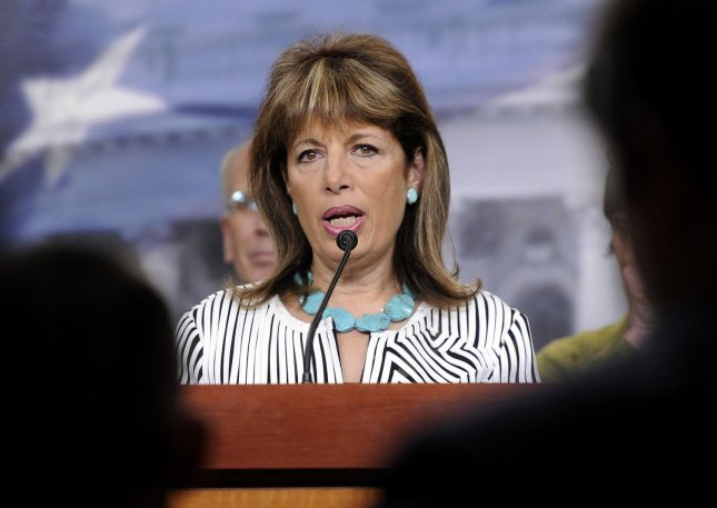 Jackie Speier, pictured in Washington May 26, 2011. UPI/Roger L. Wollenberg
