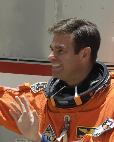 File photo of Astronaut and Mission Specialist Greg Chamitoff dated May 31, 2008. (UPI Photo/Joe Marino-Bill Cantrell)