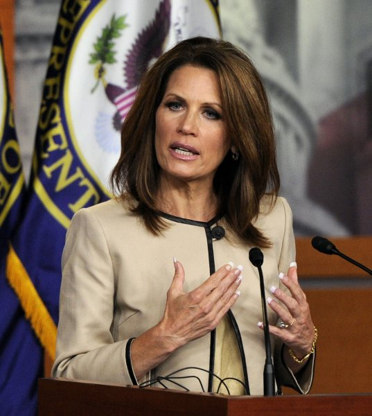 Bioethicists are calling on Rep. Michele Bachmann, R-Minn., to prove her statement that a girl suffered mental retardation after receiving the vaccine for human papillomavirus. UPI/Roger Wollenberg