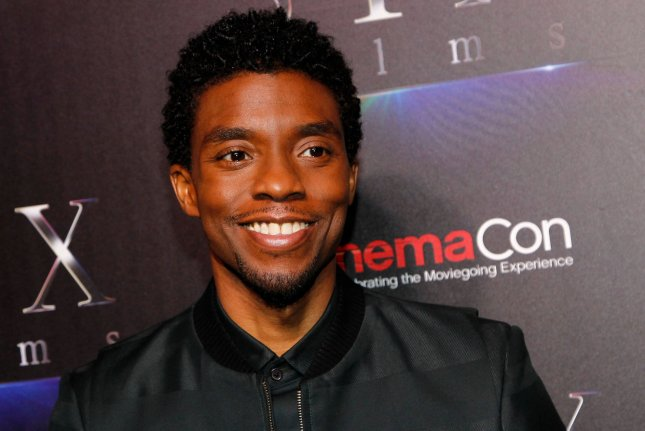 Late actor Chadwick Boseman arrives at the CinemaCon 2019 STX films red carpet on April 2019. ABC's A Tribute for a King about Boseman can now be streamed on Disney+. File Photo by James Atoa/UPI
