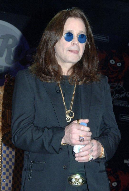 File phot of Ozzy Osbourne dated July 28, 2006. (UPI Photo/Ezio Petersen)