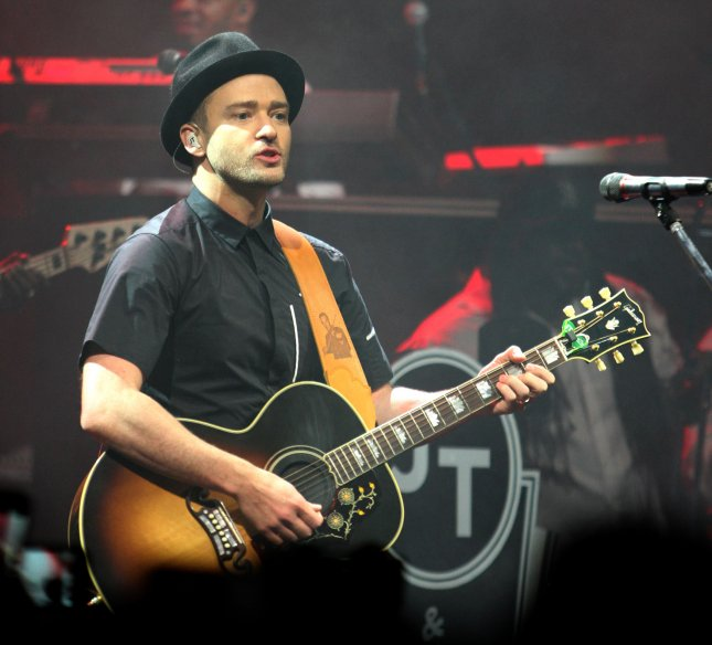 Justin Timberlake performs during his Aftershow at the Fillmore in Miami Beach on August 16, 2013. UPI/Michael Bush