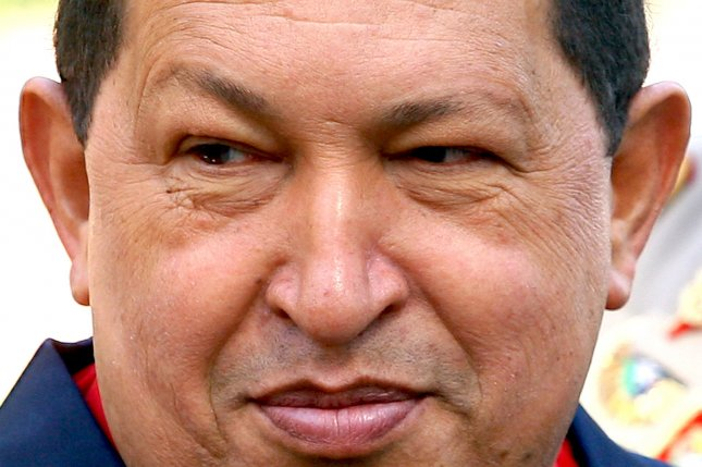 Venezuela's President Hugo Chavez, seen in this October 19, 2010 file photo in Iran, died after a two-year battle with cancer, ending his 14-year rule of the country, according to Vice President Nicolas Maduro, March 5, 2013. UPI/Maryam Rahmanian/File Photo