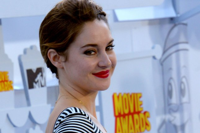Actress Shailene Woodley arrives for the MTV Movie Awards at Nokia Theatre L.A. Live in Los Angeles on April 12, 2015. File Photo by Jim Ruymen/UPI
