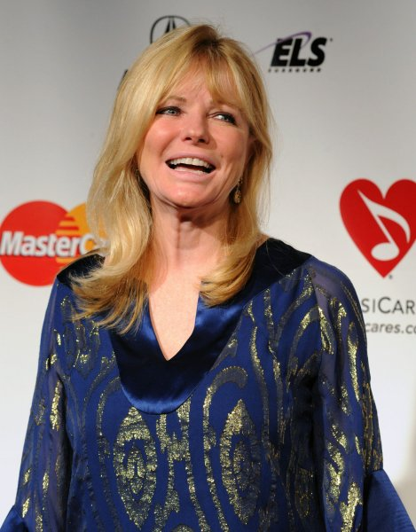 Cheryl Tiegs arrives at the 2011 MusiCares Person of the Year tribute honoring Barbra Streisand in 2011. File Photo by Jim Ruymen/UPI