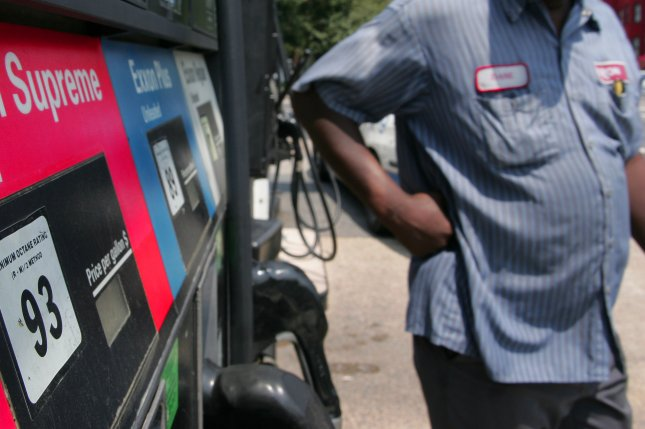 More than 30 percent of all U.S. retail gasoline stations have prices listed below the $2 mark, motor club AAA reports. File Photo by Eduardo Sverdlin/UPI