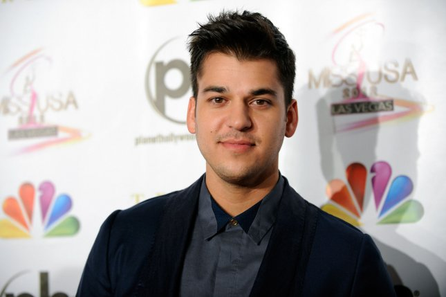 Rob Kardashian spent his birthday with daughter Dream and other family Saturday. File Photo by David Becker/UPI