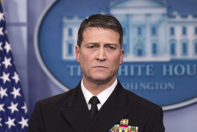 Ronny Jackson not to return to job as Trump's personal doctor