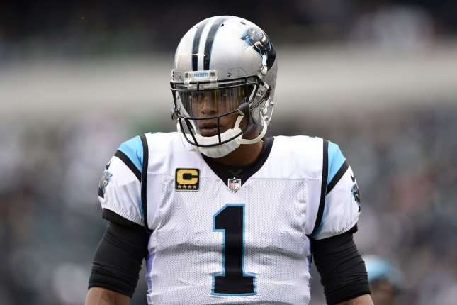 Cam Newton's former coach, Ron Rivera, thinks the former Carolina Panthers quarterback will excel in 2020 with the New England Patriots. File Photo by Derik Hamilton/UPI