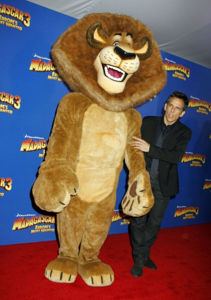 Ben Stiller arrives for the premiere of Madagascar 3: Europe's Most Wanted at the Ziegfeld Theatre in New York on June 7, 2012. UPI /Laura Cavanaugh