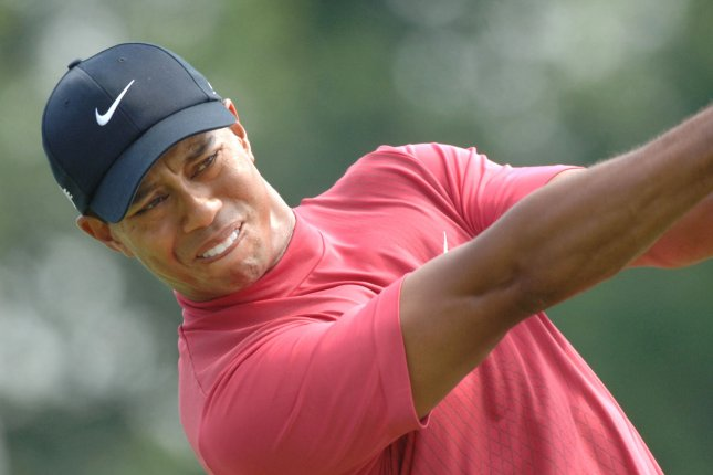 Tiger Woods announced on Tuesday that he will not play in the 2016 U.S. Open at Oakmont Country Club. Woods is pictured hitting a tee shot on June 17, 2007, the last time the U.S. Open Championship was played at Oakmont. File Photo Pat Benic/UPI