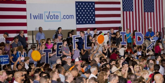 The mismatch between Hillary Clinton and Donald Trump's ground game makes it difficult to read swing-states like Florida.Photo by Gary I Rothstein/UPI