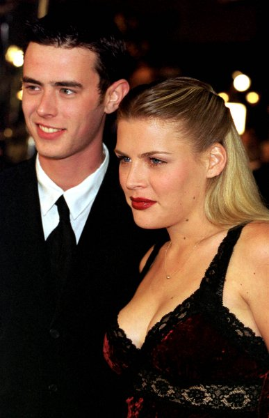 Busy Philipps (R) and Colin Hanks at the Los Angeles premiere of The Green Mile on December 6, 1999. File Photo by Sinartus Sosrodjojo/UPI