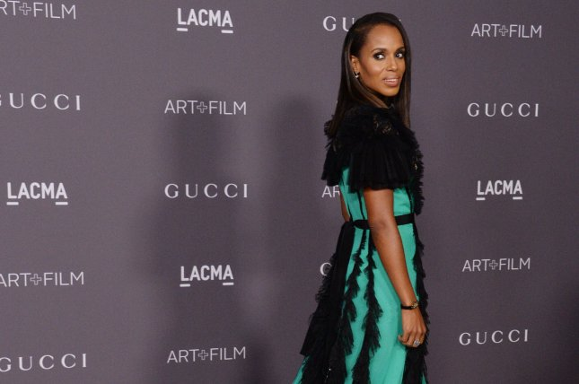 Actress Kerry Washington teased on Twitter Wednesday a crossover between her show Scandal and Viola Davis' How to Get Away with Murder. File Photo by Jim Ruymen/UPI