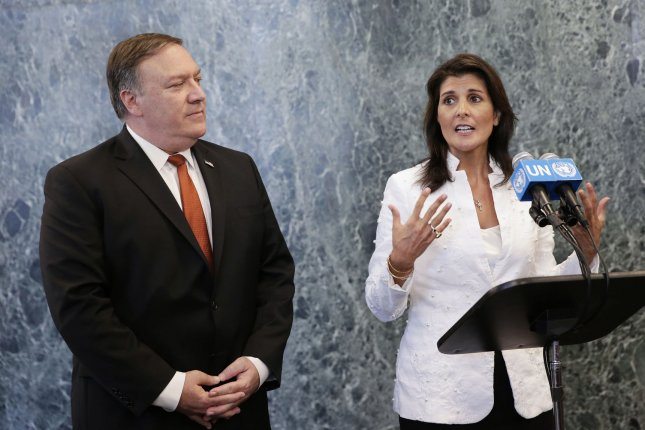 Pompeo, Haley step up pressure to support Trump's talks on North Korea