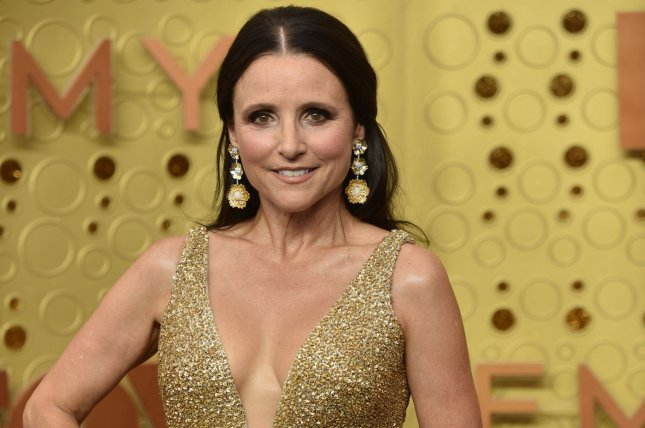 Julia Louis-Dreyfus executive produces and stars in Downhill. File Photo by Christine Chew/UPI