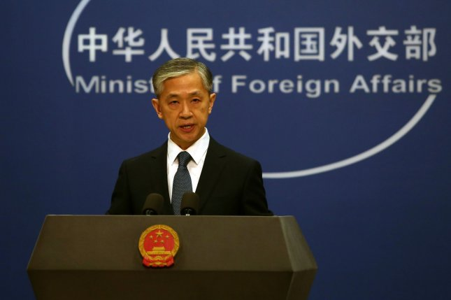 China's Foreign Ministry spokesman Wang Wenbin said Wednesday U.S. arms sales to Taiwan undermine China's security interests. File Photo by Stephen Shaver/UPI