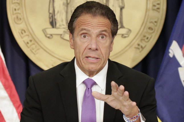 New York Gov. Andrew Cuomo has been accused of sexual harassment and misconduct by three women in recent weeks. File Photo by John Angelillo/UPI