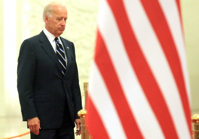 U.S. Vice President Joe Biden attends a ceremony at the Great Hall of the People in Beijing Aug. 18, 2011. UPI/Stephen Shaver