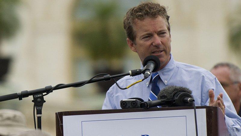 Sen. Rand Paul (R-KY) File/UPI/Kevin Dietsch
