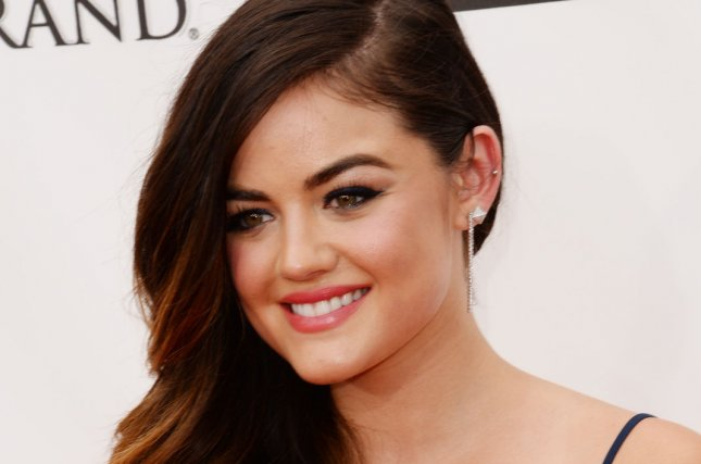 Actress Lucy Hale attends the 2014 Billboard Music Awards held at the MGM Grand Garden Arena in Las Vegas, Nevada on May 18, 2014. UPI/Jim Ruymen