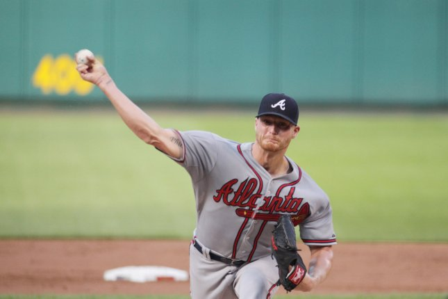 Shelby Miller was an All-Star pitcher for the Atlanta Braves in 2015 but has been held back by injuries the last few years. File Photo by Bill Greenblatt/UPI