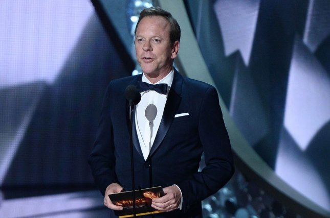 Designated Survivor star Kiefer Sutherland. Netflix canceled the series along with Tuca and Bertie. File Photo by Jim Ruymen/UPI
