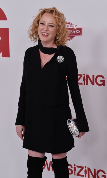 Virginia Madsen attends the premiere of Downsizing at the Regency Village Theatre in the Westwood section of Los Angeles on December 18, 2017. The actor turns 60 on September 11. File Photo by Jim Ruymen/UPI