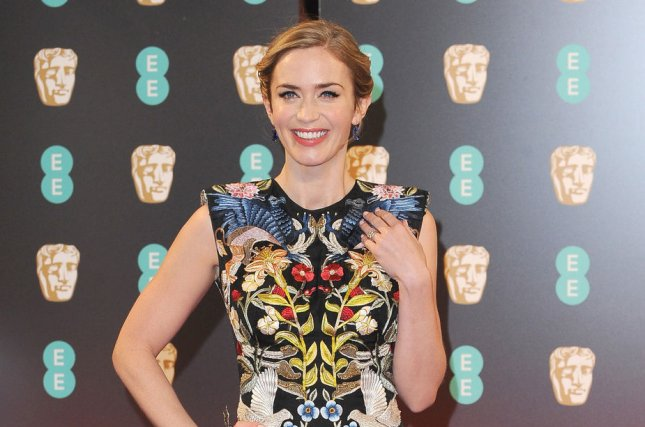 Emily Blunt attends the 70th EE British Academy Film Awards (BAFTA) on February 12. Blunt is set to return for a sequel to Edge of Tomorrow according to director Doug Liman. File Photo by Paul Treadway/ UPI