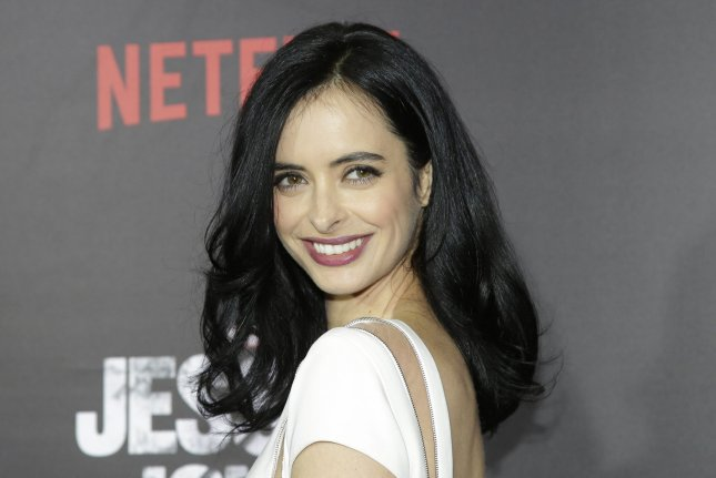 Krysten Ritter arrives on the red carpet at the premiere of Marvel's Jessica Jones on November 17, 2015 in New York City. Netflix said this weekend the show will return for Season 2 in March. File Photo by John Angelillo/UPI