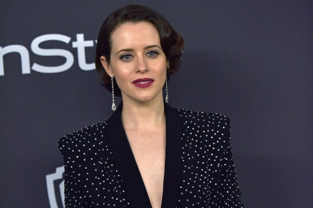 Claire Foy was honored with the See Her Award at the Critics' Choice gala in Santa Monica Sunday night. Photo by Christine Chew/UPI