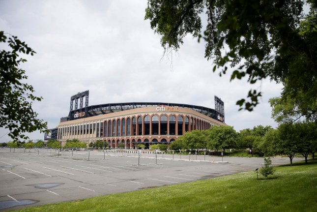 Citi Field, home of the New York Mets baseball team, could host games in July if MLB owners' latest proposal is accepted by the players' union. File Photo by John Angelillo/UPI