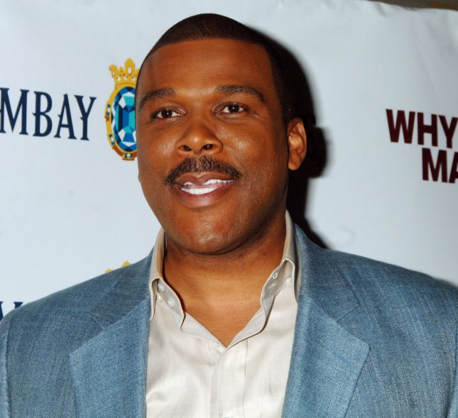 Director-writer Tyler Perry attends the New York premiere for his new film Why Did I Get Married? on October 9, 2007. (UPI Photo/Ezio Petersen)