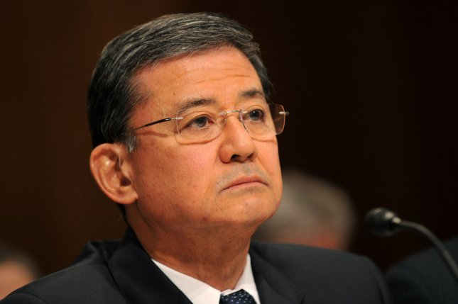 Veterans Affairs Secretary Eric Shinseki. UPI/Kevin Dietsch