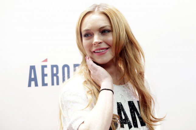 Lindsay Lohan at the Z100 Jingle Ball concert in 2013. File Photo by John Angelillo/UPI