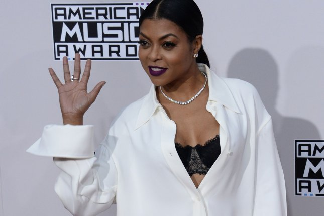 Hidden Figures actress Taraji P. Henson arrives for the 2016 American Music Awards held at Microsoft Theater in Los Angeles on November 20, 2016. File Photo by Jim Ruymen/UPI