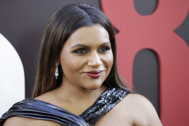 Mindy Kaling discussed parenthood and daughter Katherine while delivering remarks at Dartmouth College's graduation ceremony. File Photo by John Angelillo/UPI