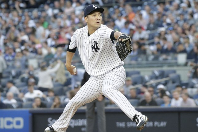 New York Yankees starting pitcher Masahiro Tanaka has a 0.41 ERA against the Tampa Bay Rays this season. File Photo by John Angelillo/UPI
