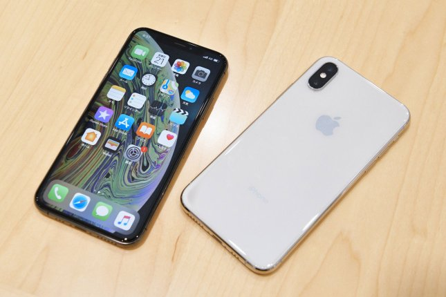 Apple and Google, collaborating on coronavirus tracing technology by cellphone, announced improvements in privacy and security on Friday, as well as an expected rollout by mid-May. File Photo by Keizo Mori/UPI