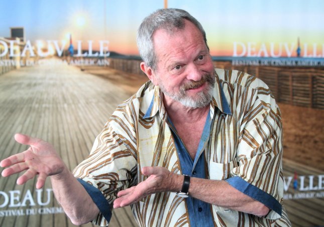 Terry Gilliam arrives at a photocall during the 36th American Film Festival of Deauville in Deauville, France on September 4, 2010. Gilliam is being honored at the festival for his body of work. UPI/David Silpa