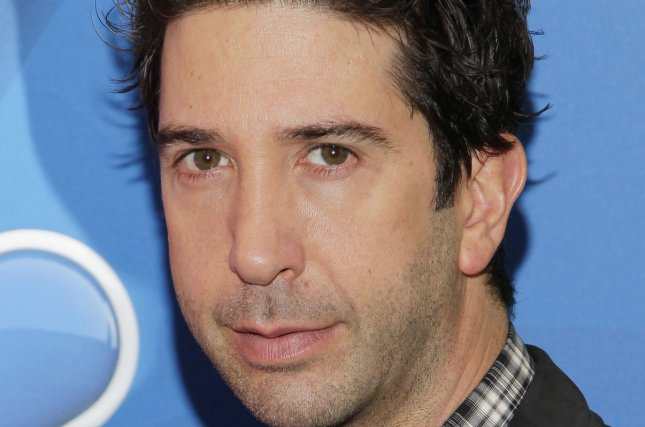 David Schwimmer arrives on the red carpet at the 2013 NBC Upfront Presentation at Radio City Music Hall in New York City on May 13, 2013. UPI/John Angelillo