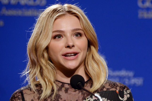 Actress Chloe Grace Moretz announces nominations for the 73rd annual Golden Globe Awards on December 10, 2015. File Photo by Jim Ruymen/UPI