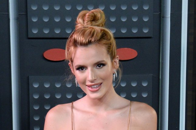 Bella Thorne at the MTV Video Music Awards on August 30, 2015. File Photo by Jim Ruymen/UPI