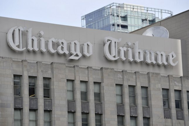 The Chicago Tribune was among newspapers disrupted by a suspected malware attack. File photo by Brian Kersey/UPI