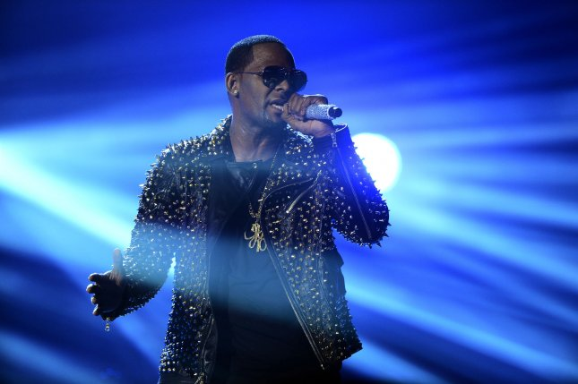 Singer R. Kelly spends a second night in jail due to being unable to pay bail. Photo by Jim Ruymen/UPI
