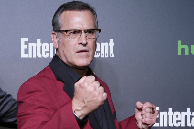 Bruce Campbell is set to take part in a virtual table read of his 1993 show The Adventures of Brisco County Jr. File Photo by John Angelillo/UPI