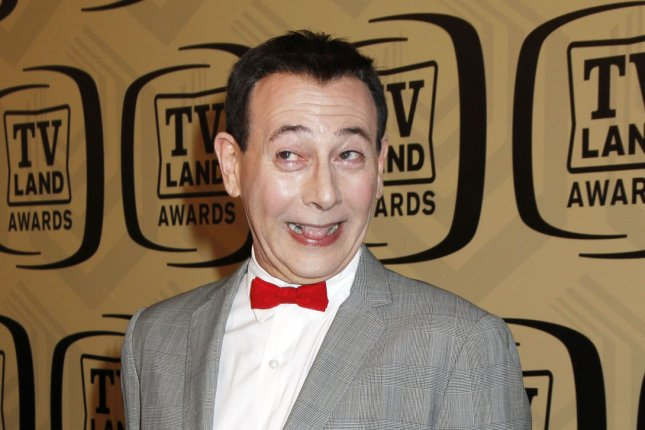 Paul Reubens as Pee-wee Herman at the TV Land Awards on April 14, 2012. The actor returns as Pee-wee in Pee-Wee's Big Holiday. File Photo by Laura Cavanaugh/UPI