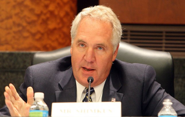 U.S. Rep. John Shimkus, R-Ill., argued at a House hearing this week that the life in pro-life refers only to opposition to a procedure that intentionally results in dead babies -- abortion, not mercury emissions. 2010 file photo. UPI/Bill Greenblatt